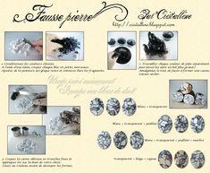 Fimo Cristalline, tuto et bijoux en polymère: Tuto pour de faux