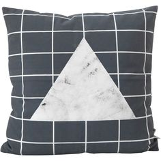 Stones Organic Cotton Cushion (2,425 PHP) ❤ liked on Polyvore featuring home, home decor, throw pillows, textured throw pillows and stone home decor