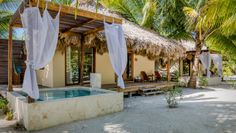 El Secreto: A 20-minute flight from Belize City, El Secreto is a luxe beach escape on Ambregris Caye.