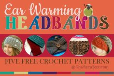 5 Ear Warming Headbands
