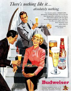 Even Cartoon People Drink Budweiser! by saltycotton, via Flickr