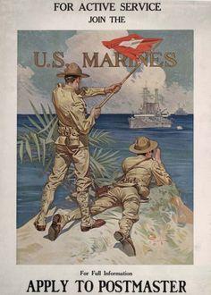 leyendecker marines