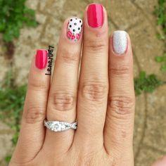Floral Nail Art Manicure