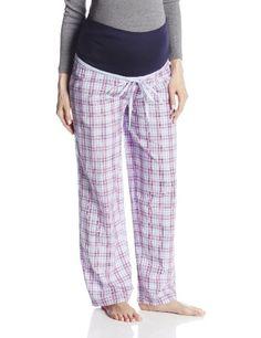 JoJo Maman Bebe Women's Maternity Pajama Pants, Pink, Small - Maternity Madam