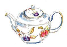 Tea Pots/Portmerion?