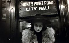 Walker Evans, New York Subway 1934