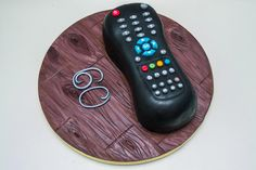 A cake for a man who spend lot of time TV watching :) I hope you like it 30th Birthday Cake For Her, Birthday Ideas, Gravity Defying Cake, Tv Remote Controls, Creative Cakes, Cake Ideas, Fathers Day, Sculpting, Cake Decorating
