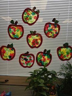 Miss Allison's Class: Apple Art Activities