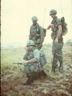 Out in the field - Vietnam War