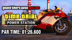 GTA Online - Time Trial #20 - Power Station (Under Par Time)