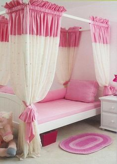 Image detail for -painting custom trim wall painting for your baby girl bedroom
