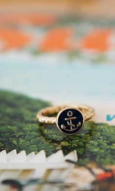 Anchors Away Ring $7.00