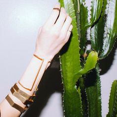Bronze Arm Cuff by Aoko Su