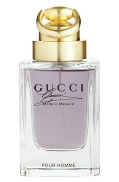 Gucci 'Made to Measure pour Homme' Eau de Toilette | This fragrance intoxicates me! And James Franco doesn't hurt either!