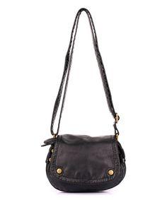 This Black Charlotte Round Crossbody Bag is perfect! #zulilyfinds