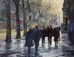 John #Salminen「December light, Paris」