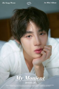 Photo teaser for Sungwoon's debut solo mini-album 'My Moment'. Jinyoung, Kpop, Swing, Kim Jaehwan, My Destiny, Ha Sungwoon, Pop Idol, New Journey, Together Forever