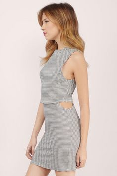 Bria Cut Out Bodycon Dress