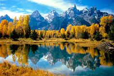 Grand Teton National Park, Wyoming - one of the best places on earth.