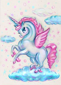 miss Fluff designed a unicorn for mim-pi summer 2018 she is so cute. By Artist Unknown. Unicorn Fantasy, Unicorn Art, Magical Creatures, Fantasy Creatures, Unicorn Poster, Miss Fluff, Unicorn Coloring Pages, Unicorn Tattoos, Unicorn Pictures
