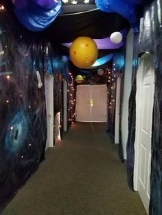 Hallway decorations for Galactic Starveyors VBS 2017