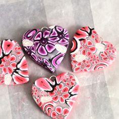 Clay hearts, By Emilia Sofia
