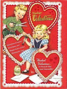Vintage Valentine Book