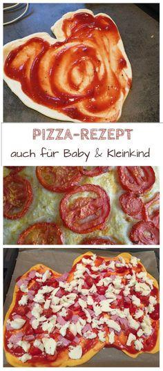 Dieses Pizza Rezept ist easy und eignet sich als Beikost schon für Baby und Kleinkind. Der Teig enthält saftige Möhren und wird mit Tomatensauce und dem richtigen Belag ein leckeres Fingerfood für die ganze Familie: http://www.breirezept.de/rezept_pizza_fuer_das_baby.html