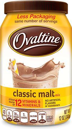 Milo, Ovaltine, Horlicks – nourishing drinks of yesteryears