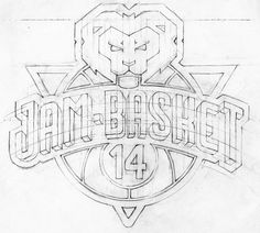 Basketball logo, BASKET-PARIS 14 on Behance