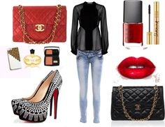 """""""Red Crush"""" by mbaileydesigns on Polyvore"""