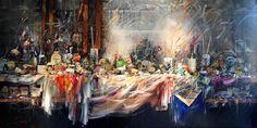 Castle, Painting, Inspiration, Art, Atelier, Classic, Art Background, Biblical Inspiration, Painting Art