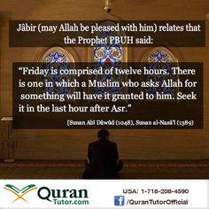 #Hadith #Friday #Islam #Prophet #Pray