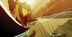 A Montana river guide (and aspiring novelist) is a pro at taking corporate execs to the big trout– but meets his match when two outlaw literary legends land in his boat.