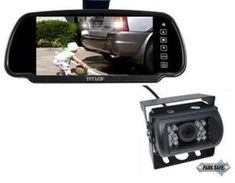 """PARKSAFE 26-063 7"""" REPLACEMENT TFT/LCD MONITOR   RCA CAMERA COMBO Reverse Mirror, Lcd Monitor"""