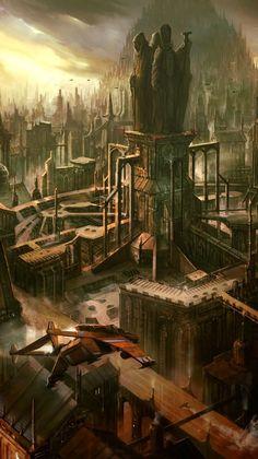 Kephistron Altris - city on the shrine planet Baraspine