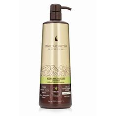 Macadamia Natural Oil Macadamia Nourishing Moisture Shampoo -- To view further for this article, visit the image link. Moisturizing Shampoo, Hair Shampoo, Shampoo And Conditioner, Oil For Hair Loss, Macadamia Oil, Coarse Hair, Oil Benefits, Best Anti Aging, Luxury Beauty