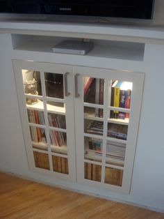 Convert Your Fireplace Into Entertainment Center My