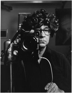 Elliott Erwitt, self-portrait.