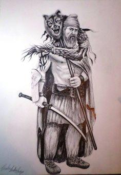 Illustrations of Dacia, Thracia & Phrygia Image Salvage) - Forum - DakkaDakka 3d Tattoos, Wolf Tattoos, Tattoo Ink, Arm Tattoo, Norse Tattoo, Viking Tattoos, History Of Romania, Romanian Flag, Dracula Tattoo
