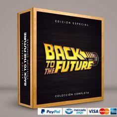 Volver al Futuro #ColeccionCompleta DVD · BluRay · Calidad garantizada. #BoxSetDeLujo Presentación exclusiva de RetroReto. Pedidos: 0414.402.7582 RetroReto.com