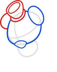 how to draw chibi freddy fazbear, five nights at freddys step 3