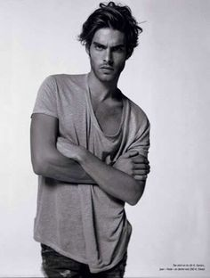 Jon Kortajarena male model t shirt oversized fashion men tumblr