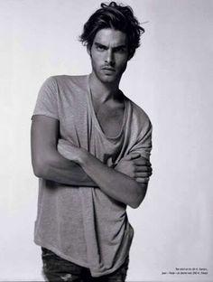 Jon Kortajarena male model t shirt oversized fashion men tumblr