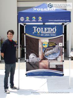 5' x 5' Pop Up Tent for Toledo