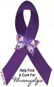 Possible Fibromyalgia Tattoo Ribbon