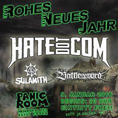 New-Metal-Media Eventtipp Rohes Neues Jahr