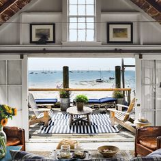 Beach Cabin - There is nothing quite like having a home by the seaside, and the Provincetown Beach Cabin is bringing a whole new level of comfort to oceanside li. Beach Cottage Style, Beach Cottage Decor, Style At Home, Provincetown Beach, Provincetown Massachusetts, Dream Beach Houses, Rustic Beach Houses, Small Beach Houses, Beach Bungalows