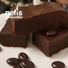 Orijinal Brownie (Tam Ölçü) recipes for two recipes fry recipesYou can find Yemek and more on our website. Yummy Recipes, Easy Bread Recipes, Dessert Recipes, Yummy Food, Desserts, Brownie Recipes, Cheesecake Recipes, Cheesecake Brownies, Raw Vegan Brownies