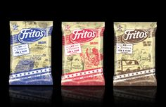 75th Anniversary packaging for Frito Lay